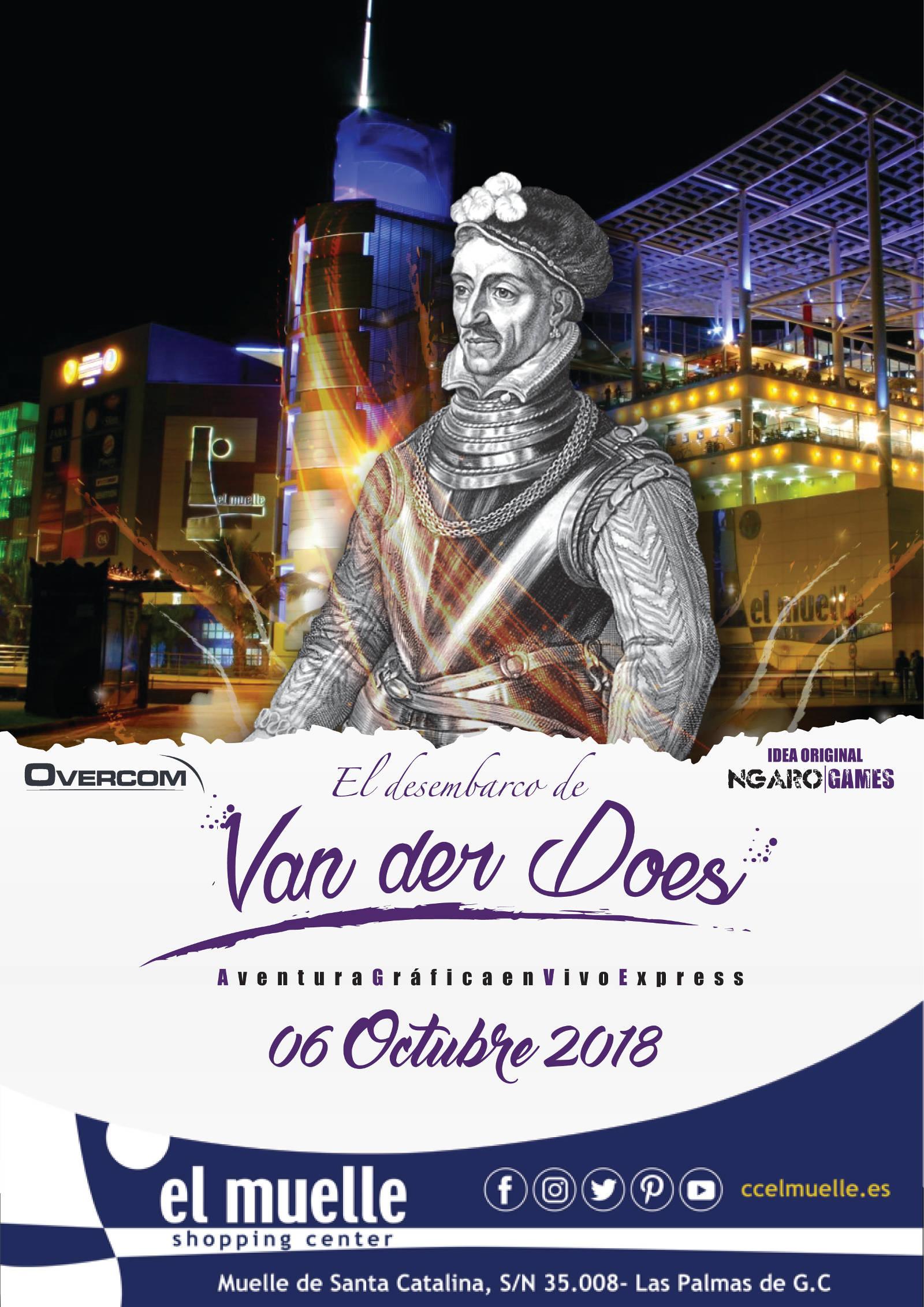 Van der Does CC El Muelle Gran Canaria